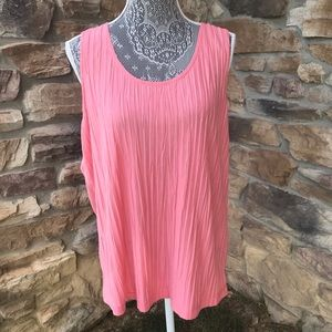 Chico's Pleated Tank Top